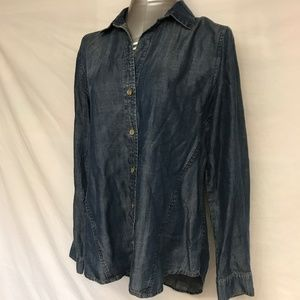 Cloth & Stone Denim Shirt - Small
